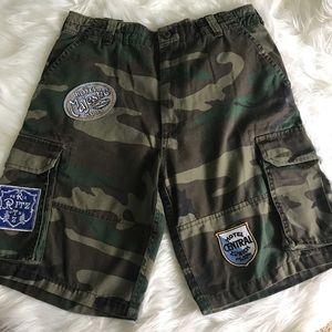 Men's Dope Couture Streetwear camo shorts